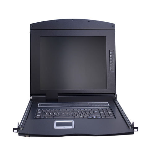 Lanbe AS-7100ULS - 17'' TFT LCD Schublade, 1 Port VGA KVM-Switch